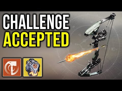 CHALLENGE ACCEPTED! [One Bow Only] | Destiny 2 thumbnail