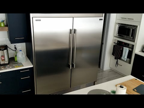 Frigidaire Professional Refrigerator and Freezer Side By Side REVIEW - FPRU19F8RF FPFU19F8RF
