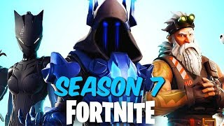 "Fortnite: Battle Royale ""Season 7"" Gameplay - Fortnite ""Season 7: Battle Pass"" (Fortnite season 7)"