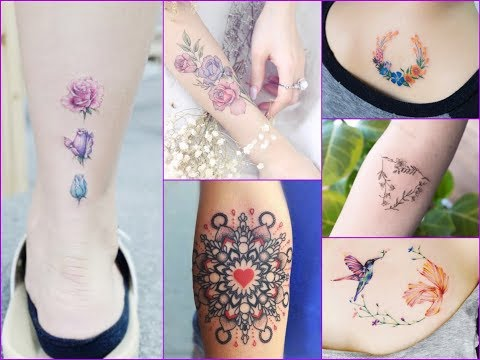Top-50 Charming And Delicate Tattoo Designs for Womens