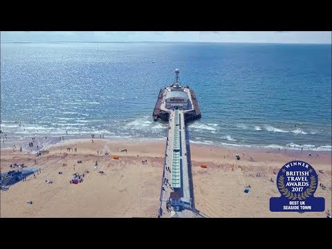Bournemouth - Best UK Seaside Town in British Travel Awards 2017