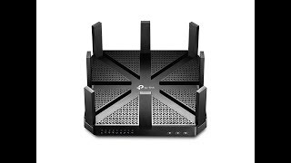 TP-LINK AC5400 Wireless Tri-Band MU-MIMO Gigabit Router Archer C5400 Unboxing Review