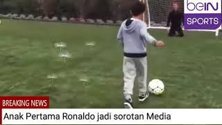 Ronaldo Jr Unjuk Skill di Lapangan sontak jadi Sorotan Media, Keren!!