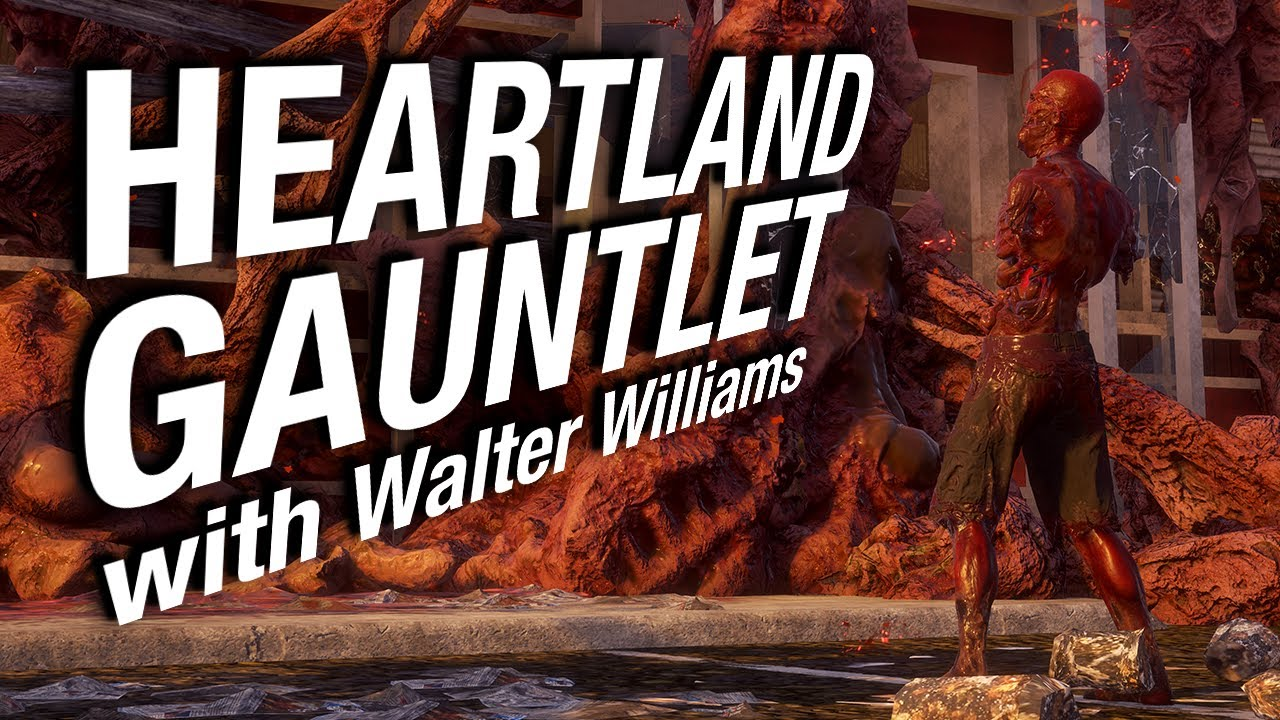 HEARTLAND GAUNTLET with designer Walter Williams!