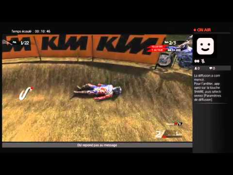 Live ps4 mxgp2 championnat moto cross fim Monster Energie #1 France