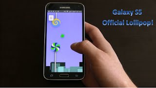 Official Android 5.0 Lollipop on Samsung Galaxy S5 [Review]