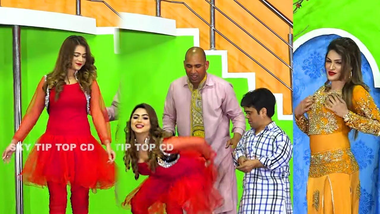 Download Vicky Kodu and Silk Chaudhry | Saima Khan 2 | New Stage Drama 2021 | Punjabi Stage |Comedy Clip 2021