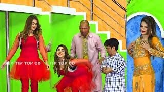 Vicky Kodu and Silk Chaudhry | Saima Khan 2 | New Stage Drama 2021 | Punjabi Stage |Comedy Clip 2021