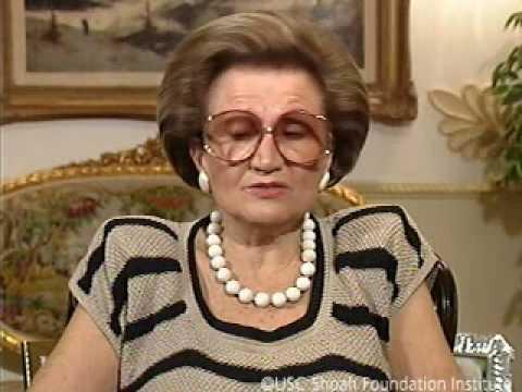 Holocaust Survivor Zofia Landau Testimony (Espanol)