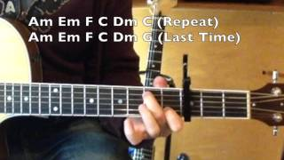 When We Were Young - Guitar Lesson - Adele Mp3