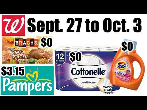 Walgreens **HOT DEALS** Sept. 27 To Oct. 3!