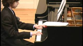 Ben Gottesman - Piano - Etude - E. Beyer