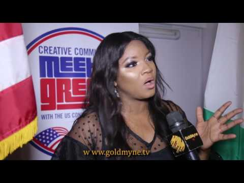 MUST WATCH: OMOTOLA JALADE DESCRIBE REASONS WHY ENTERTAINERS ARE UNDER PRESSURE AND TO COPE