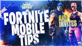HOW TO GET A FORTNITE INVITE CODE (UPDATED) (IOS) & TIPS AND TRICKS