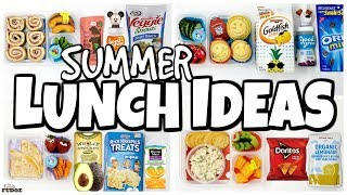 NO SANDWICHES ☀️ Fun SUMMER Lunch Ideas