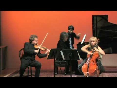 Brussilovsky, Khoma, Vynnytsky - Piano Trio in A minor, Op. 50 by P. Tchaikovsky PART 1