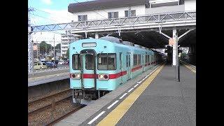 西鉄 天神大牟田線 筑紫で車両取り換え(平日朝ラッシュ) 2019年8月16日
