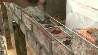 Brick Masonry Techniques For Builders - Support Of Brick Over Garage Doors