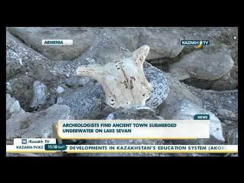 В Армении обнаружен затопленный под водой древний город