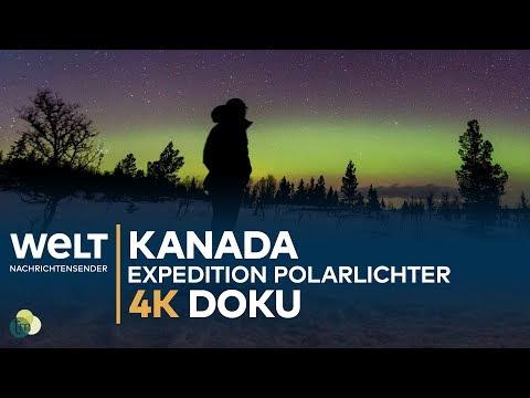 Zu den Polarlichtern Kanadas - Expedition Sternenhimmel | 4K Doku