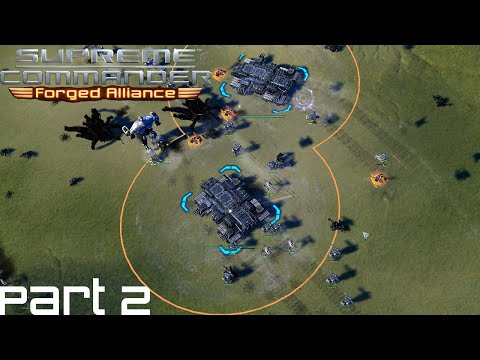 Supreme Commander FAF Forged Alliance Co Op Campaign Part 2