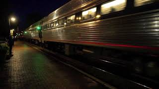 [HD] Amtrak Trains at Ashland, VA