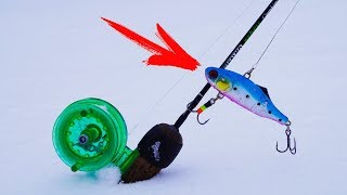 Зимняя рыбалка!  Удилища для блеснения, катушки,поводки! ГОТОВИМСЯ К ЗИМНЕЙ РЫБАЛКЕ ,ЧАСТЬ ПЕРВАЯ