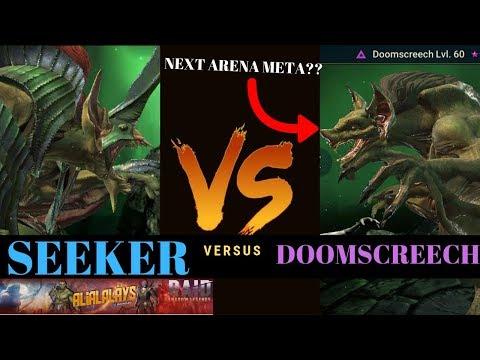 DoomScreech VS Seeker  Analytical Discussion  Raid: Shadow Legends