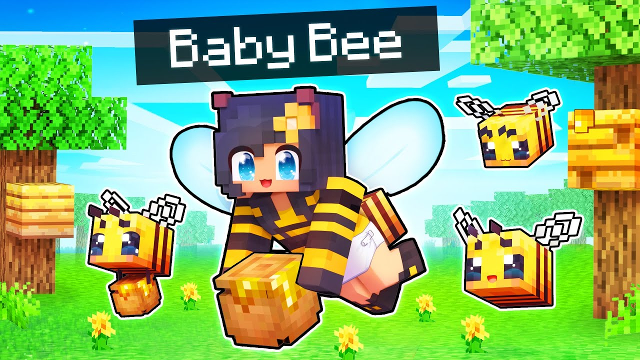 Download Buzzing Around as a BABY BEE In Minecraft!