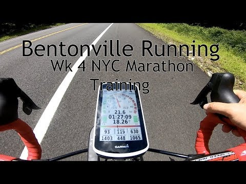 Bentonville Running Wk 4 NYC Marathon Training