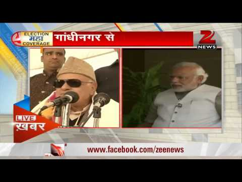 Modi targets Farooq Abdullah, calls him a communalist