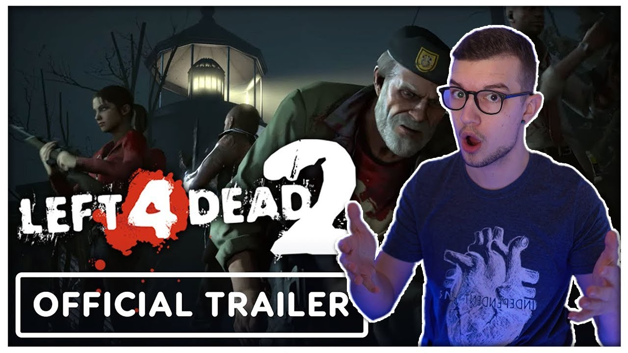 Download Left 4 Dead 2 Official The Last Stand Update Trailer REACTION (Agent Reacts)