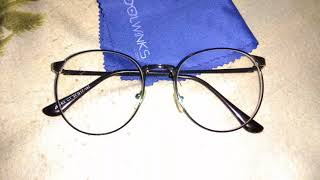 Unboxing of Coolwinks jrs eyeglasses || anti glare + uv protection lenses ||