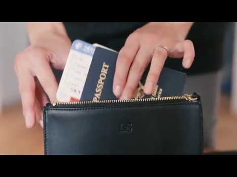 How To Pack The Waverley Leather Crossbody Bag By Lo Sons Youtube