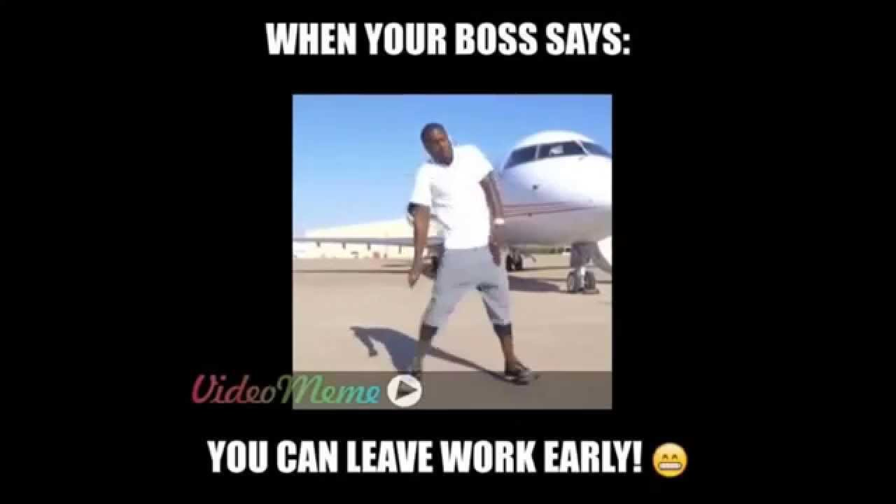 Kevin Hart Hustle Dance Meme Leaving Work Early Youtube