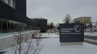 Kempten (Allgäu) & Hochschule im Winter (1)