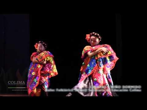 Ballet Folklóriko de la Secretaría de Educación Colima -  Chiapas Niño Dormido