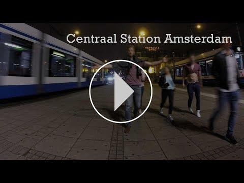 Timelapse Centraal Station Amsterdam