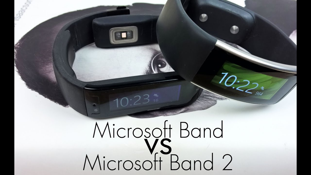 microsoft band 2 vs microsoft band comparison review youtube. Black Bedroom Furniture Sets. Home Design Ideas