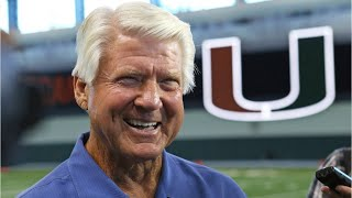 Jimmy Johnson Got Choked Up On TV During The Halftime Show