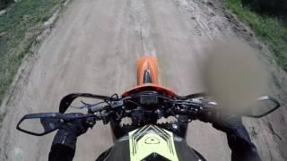 Gross Reservoir 4X4 Road on KTM 625 SXC