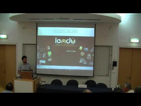 """דניאל ברקת, סמנכ""""ל טכנולוגיה ב- Lendu רשת חברתית ליצירת כלכלה שיתופית ברשת"""