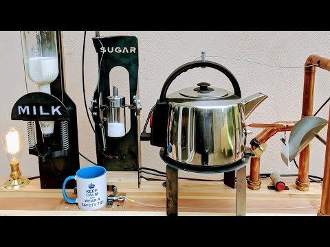 Building a Furze Tea Machine