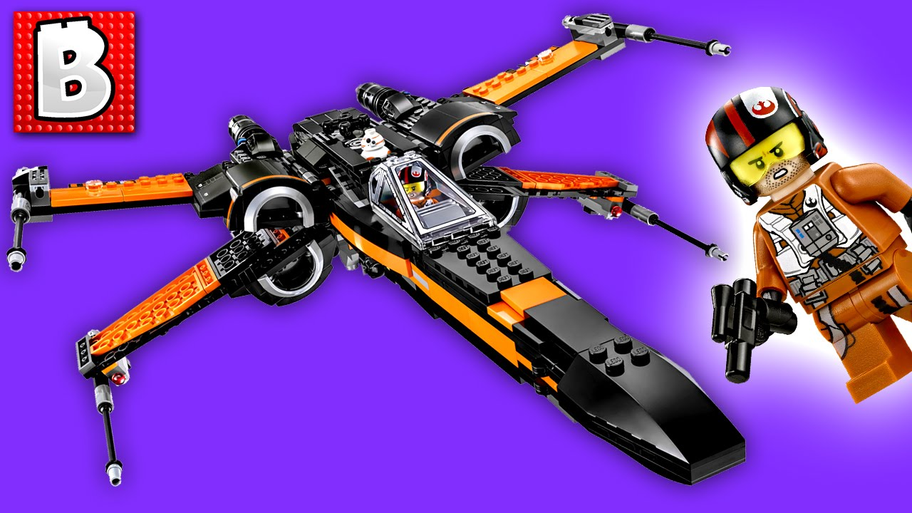 Lego Poes X Wing Fighter Star Wars Set 75102 Unbox Build Time Poeamp039s Lapse Review The Force Awakens