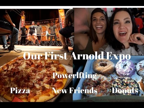 Weekend at the Arnold Ohio Expo 2017 + XPC Powerlifting Finals Vlog