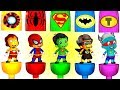 Superheroes Babies Go To Action with Dancing  Finger Family   Cartoon video for kids