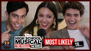 High School Musical Series Cast Plays Most Likely To