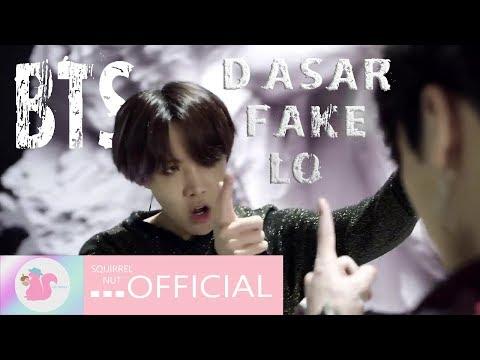 BTS - 'FAKE LO!' 🔨 | (Fake Love) Parodi Kpop Indo