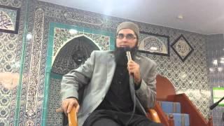 Junaid jamshed at Stamford Hill masjid London 2