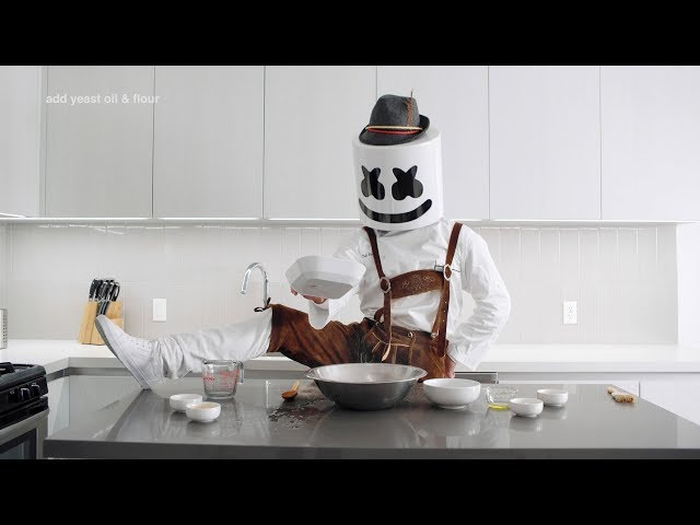 Cooking with Marshmello: How To Make Soft Pretzels (German Edition)